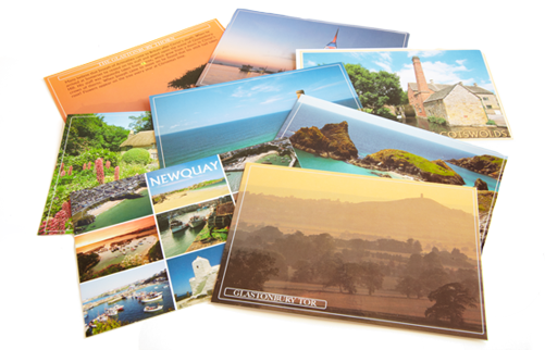 Visit Somerset Postcards